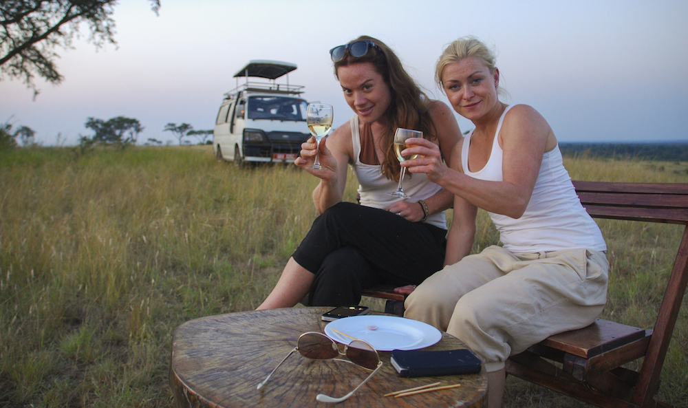 Cheers from Queen Elizabeth National Park; courtesy of Henriette Faye-Schjøll