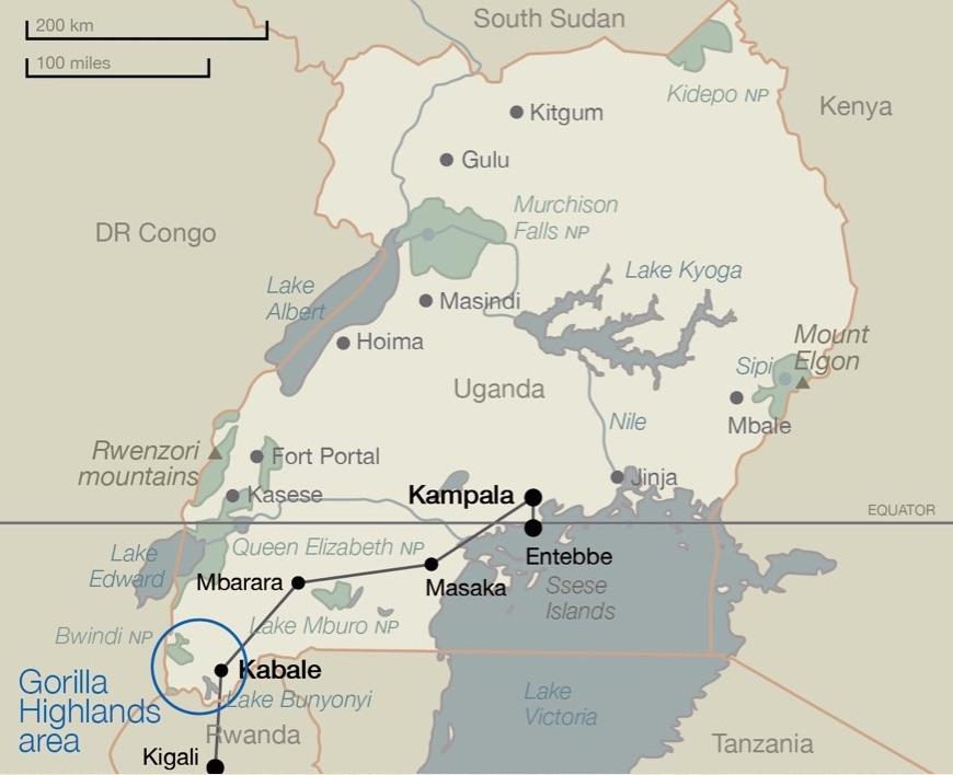 Gorilla_Highlands_Kampala_Kigali_map