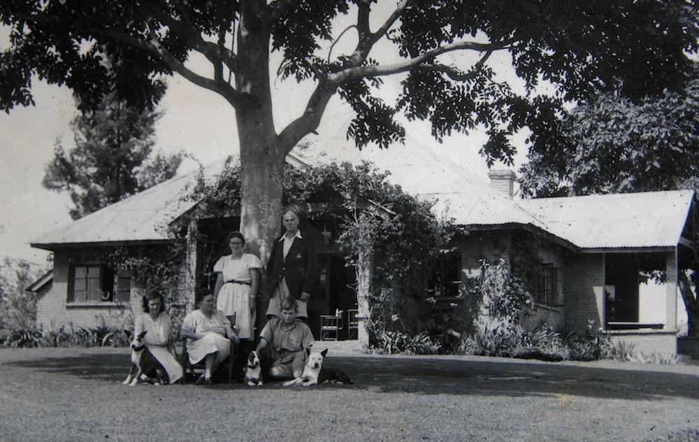 Dr Leonard Sharp's family