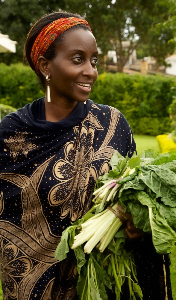 Ruth Ndyabahika feeding