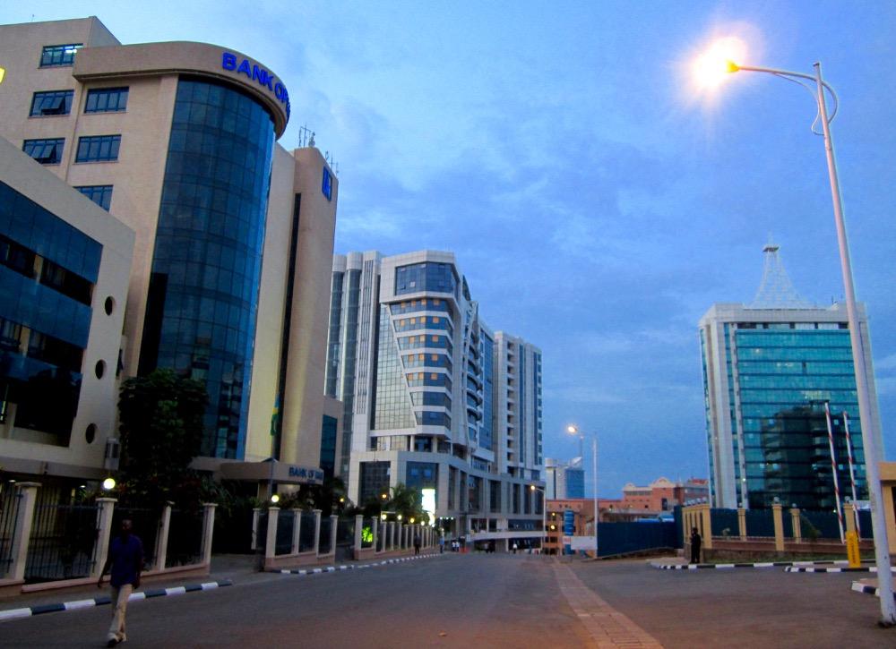 The streets of Kigali; photo by Katharina Lahner during LFA