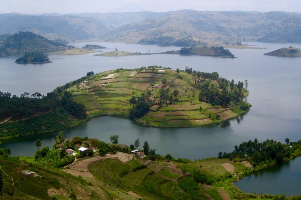 Bunyonyi's Habukomi Island; photo by Katharina Lahner during LFA