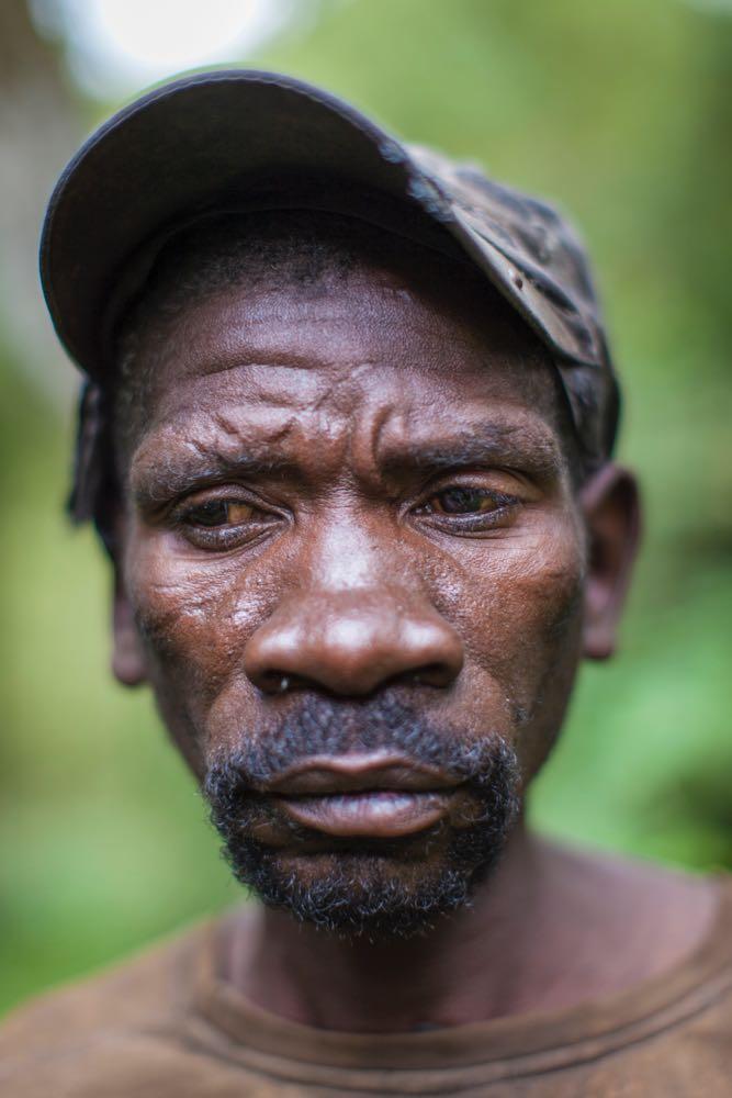 Johanna from the Batwa community of Rwamahano; photo by Marcus Westberg