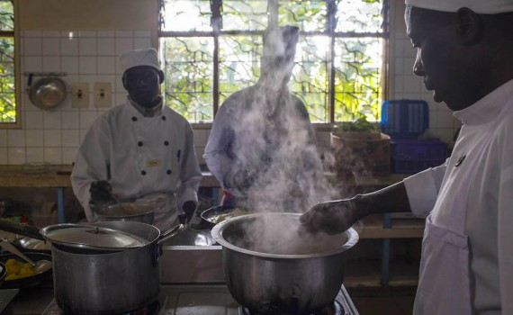 Moment from Silverchef 2015 at Travellers Rest in Kisoro; photo by Jiro Ose