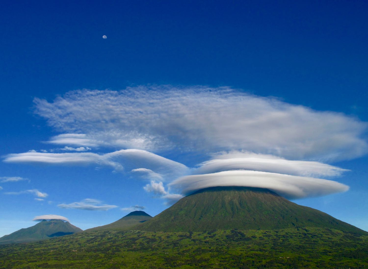 Virunga Volcanoes; photo by Ross Langdon