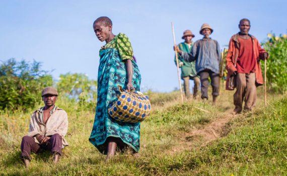 Batwa of the Rwamahano community; photo by Marcus Westberg