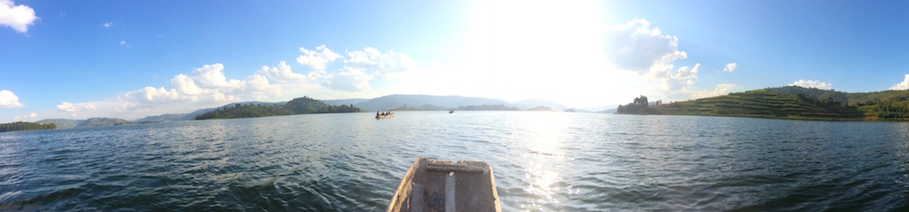 Canoeing to Habukomi Island; photo by Madison Jay