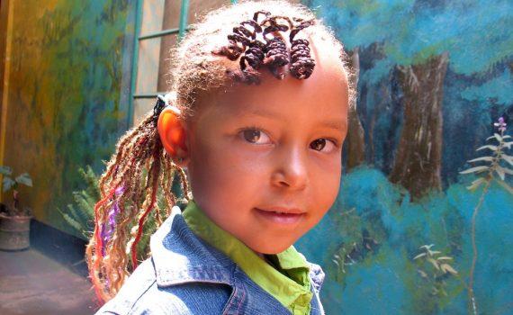 Enya at The Home of Edirisa, aged 6
