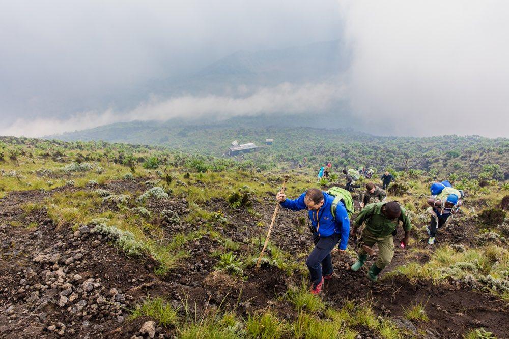Last Nyiragongo metres