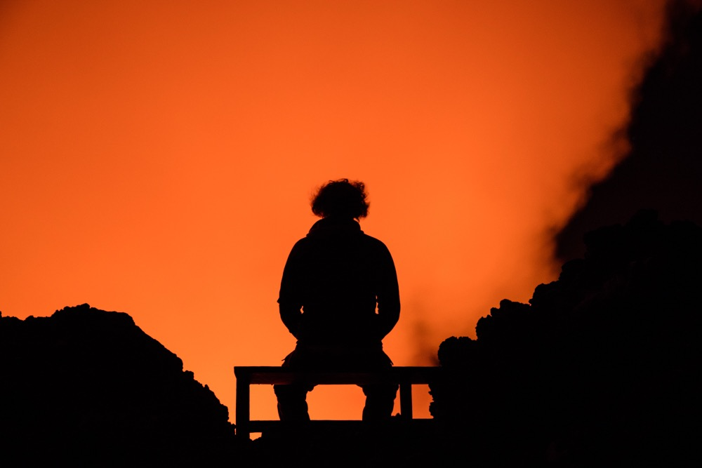 Staring into Nyiragongo lava