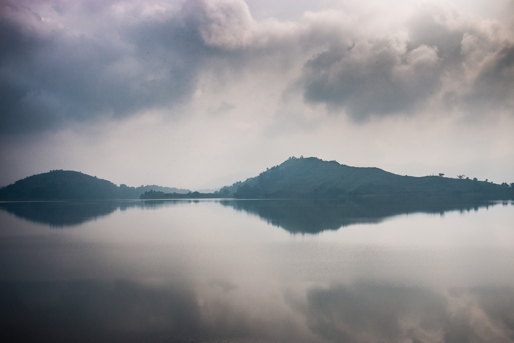 Lake Mutanda; photo by Stefano Barazzetta