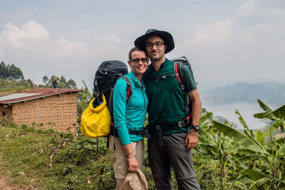 Stefano Barazzetta and Marta Pirovano; photo by Enoch Arinaitwe