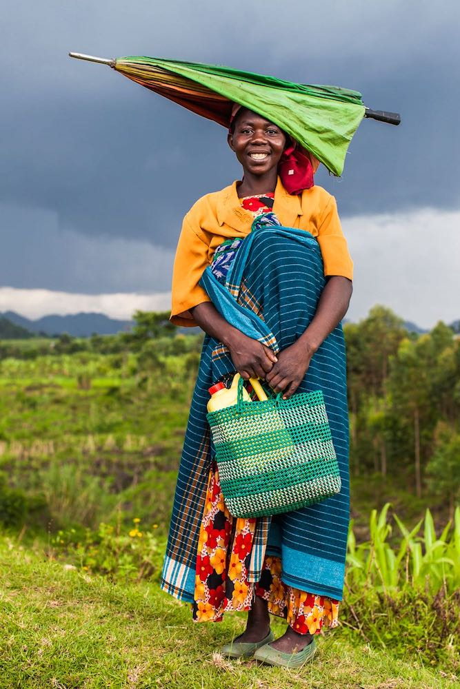 Bafumbira lady; photo by Marcus Westberg