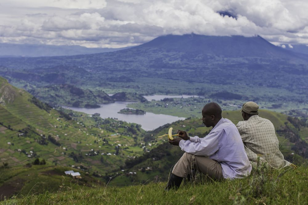 Lake Kayumbu view; photo by Marcus Westberg