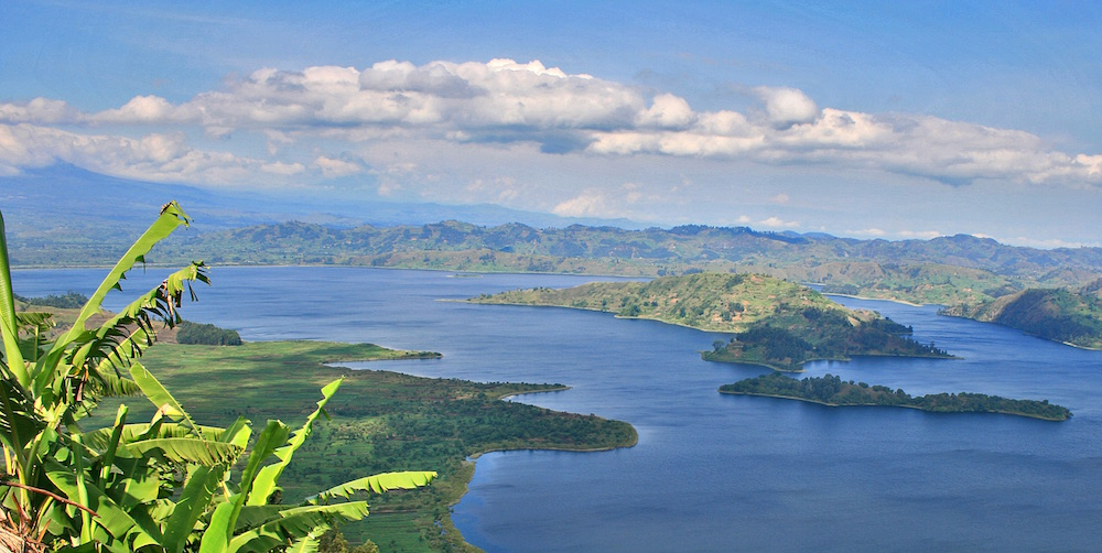 Lake Mutanda; photo by Blasio Byekwaso
